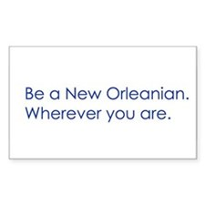 New Orleans Rectangle Decal