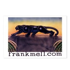 Prowling Panther Postcards (Package of 8)