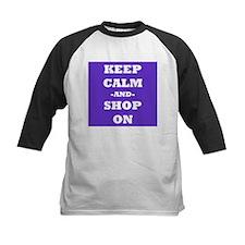 Keep Calm and Shop On Baseball Jersey