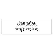 Sexy: Jamarion Bumper Bumper Sticker