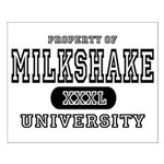 Milkshake University Small Poster