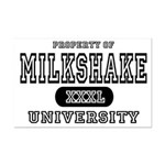 Milkshake University Mini Poster Print