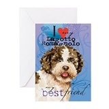 Lagotto Romagnolo Greeting Cards (Pk of 10)