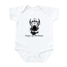 Dogue Charcoal Infant Bodysuit
