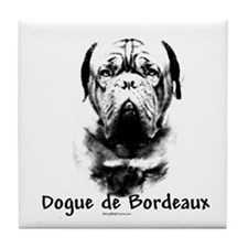 Dogue Charcoal Tile Coaster