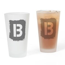Initial Letter B. Drinking Glass