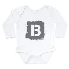 Initial Letter B. Body Suit