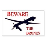 Beware The Drones Decal