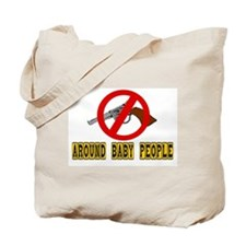 NO GUNS Tote Bag