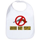 NO GUNS Bib