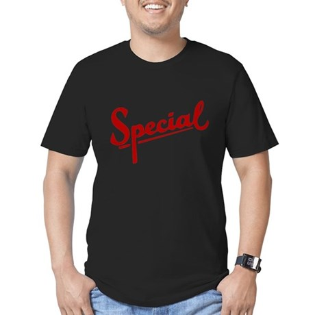 I'm Special Men's Fitted T-Shirt (dark)