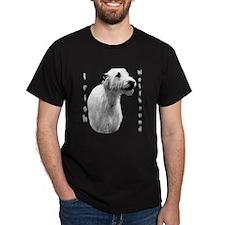 Irish Wolf Charcoal T-Shirt