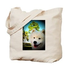 Chi Samoyed Tote Bag