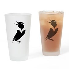 """MeadowLark"" Drinking Glass"