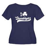 I Shamrock Shenanigans Women's Plus Size Scoop Nec