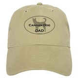 Canaan Dog DAD Cap