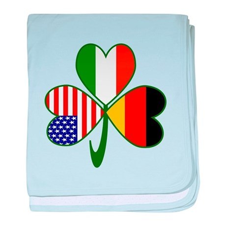 Shamrock of Germany baby blanket