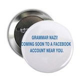 "Grammar Nazi 2.25"" Button"