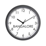 BANGALORE Modern Newsroom Wall Clock