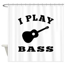 Bass designs Shower Curtain