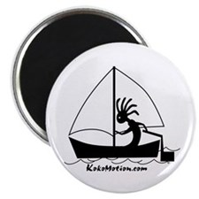 Kokopelli Sailor Magnet