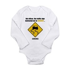 Burnout Traffic Sign Body Suit