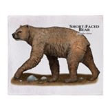Short-Faced Bear Throw Blanket