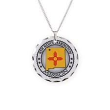 New Mexico Farmington LDS Mission State Flag Neckl