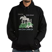 Fun Hunter/Jumper Equestrian Horse Hoodie