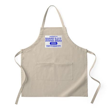 Bocce Ball University BBQ Apron