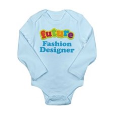 Future Fashion Designer Long Sleeve Infant Bodysui