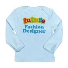 Future Fashion Designer Long Sleeve Infant T-Shirt