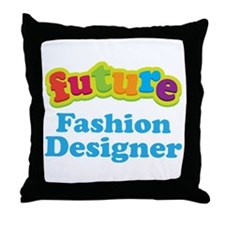 Future Fashion Designer Throw Pillow