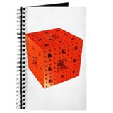 Red Menger Sponge Fractal Journal