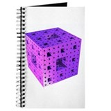Purple Menger Sponge Fractal Journal