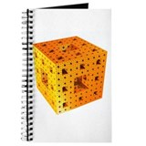 Orange Menger Sponge Fractal Journal