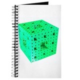 Green Menger Sponge Fractal Journal