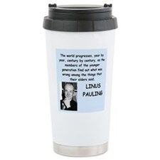 linus pauling Travel Mug