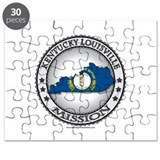 Kentucky Louisville LDS Mission State Flag Cutout