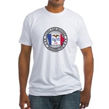 Iowa Des Moines LDS Mission State Flag Cutout T-Sh