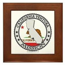 California Ventura LDS Mission State Flag Cutout F