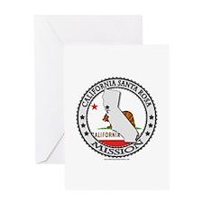 California Santa Rosa LDS Mission State Flag Greet