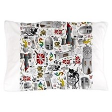 Medieval Mash-up Pillow Case