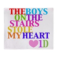Cute Directioner Throw Blanket