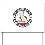 California Anaheim LDS Mission State Flag Cutout Y