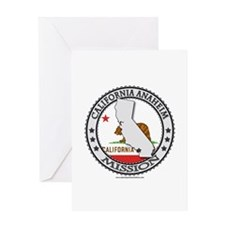 California Anaheim LDS Mission State Flag Cutout G