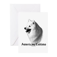 Eskimo Charcoal Greeting Cards (Pk of 10)