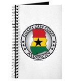 Ghana Cape Coast LDS Mission Flag Cutout Map Journ