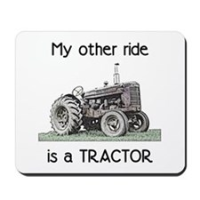 Ride a Tractor Mousepad