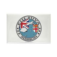 Fiji Suva LDS Mission Flag Cutout Map 1 Rectangle